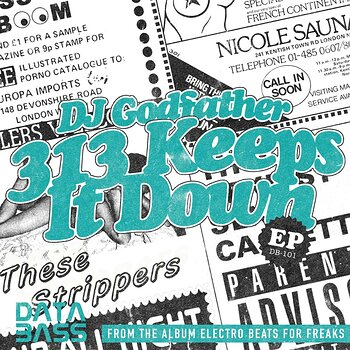 Cover art - DJ Godfather: 313 Keeps it Down EP