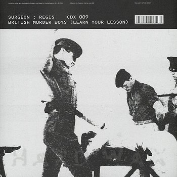 Cover art - British Murder Boys: Learn Your Lesson