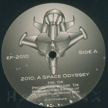 Cover art - Mr. De': 2010: A Space Odyssey EP