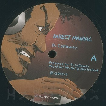 Cover art - B. Calloway & Mr. De': Direct Maniac