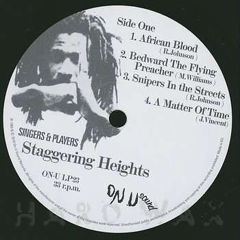 Cover art - Singers & Players: Staggering Heights