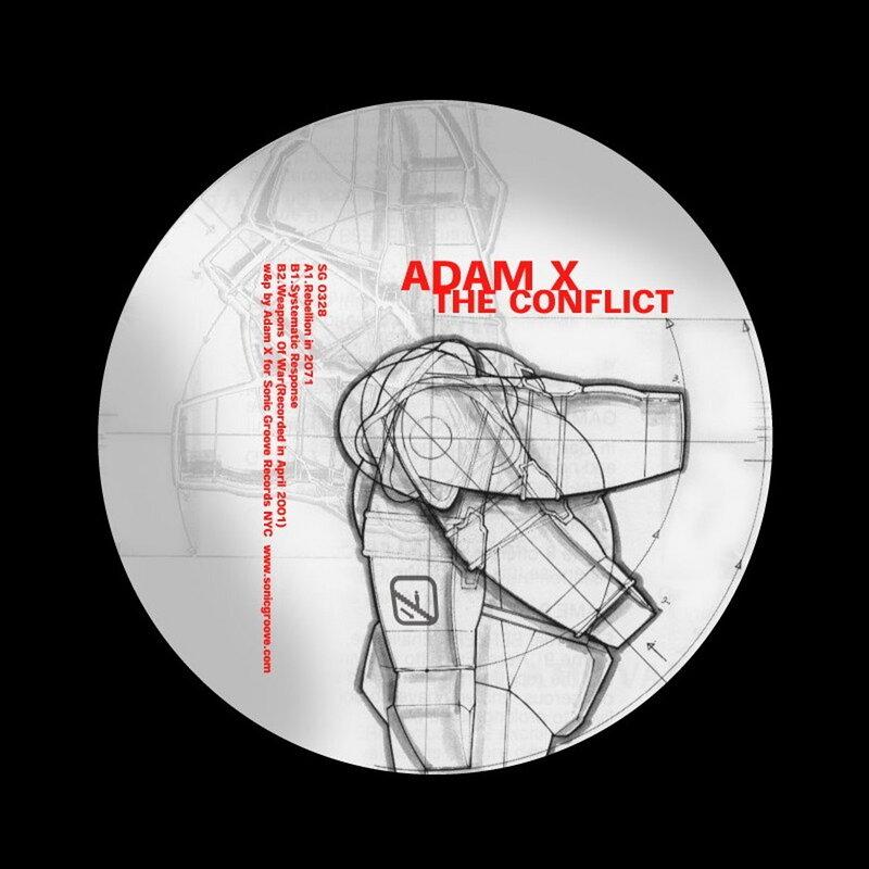 Cover art - Adam X: The Conflict