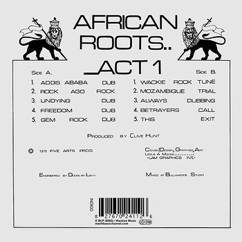 Cover art - Various Artists: African Roots Act 1