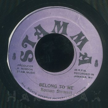 Cover art - Roman Stewart: Belong To Me