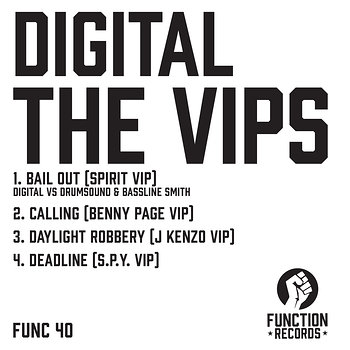 Cover art - Digital: The VIP's