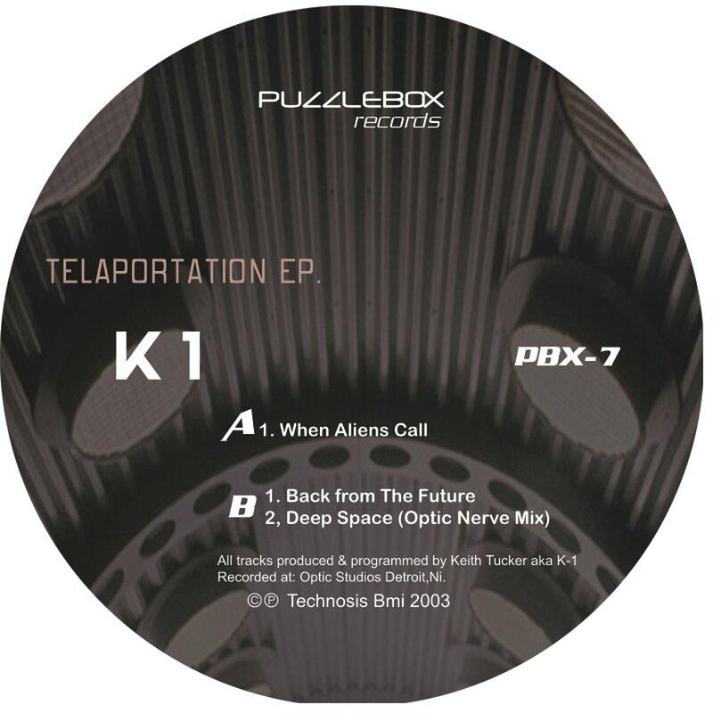 Cover art - K-1: Teleportation EP