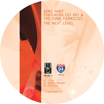 Cover art - Gene Hunt feat. Cei Bei & The Funk Farmacist: The Next Level