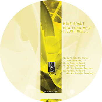 Cover art - Mike Grant: How Long Must I Continue...