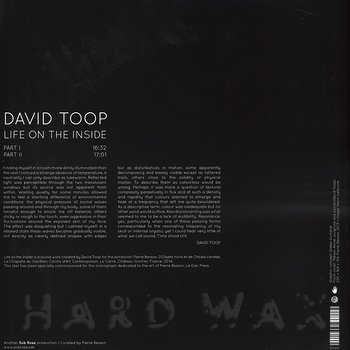Cover art - David Toop: Life On The Inside