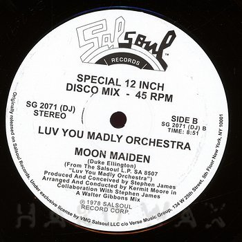 Cover art - Luv You Madly Orchestra: Rocket Rock