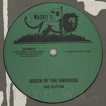 Cover art - Ras Clifton: Queen of the Universe