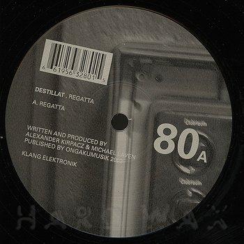 Cover art - Destillat: Regatta