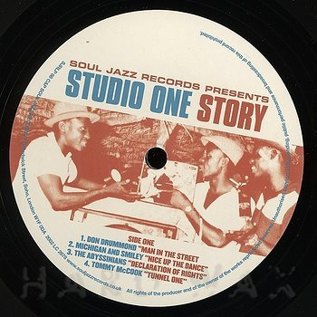 Cover art - Various Artists: Studio One Story