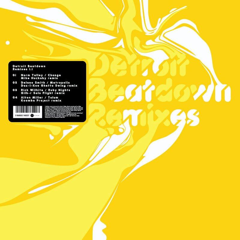 Cover art - Various Artists: Detroit Beatdown Remixes 1:1
