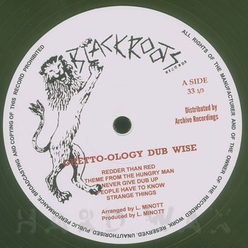 Cover art - Black Roots Players: Ghetto-Ology Dubwise