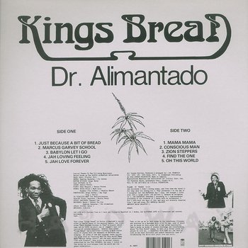 Cover art - Dr. Alimantado: Kings Bread