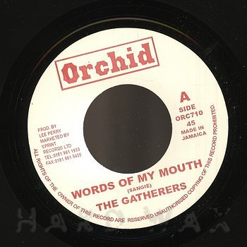 Cover art - The Gatherers: Words Of My Mouth