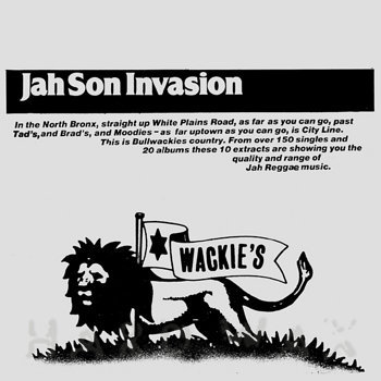 Cover art - Various Artists: Jah Son Invasion
