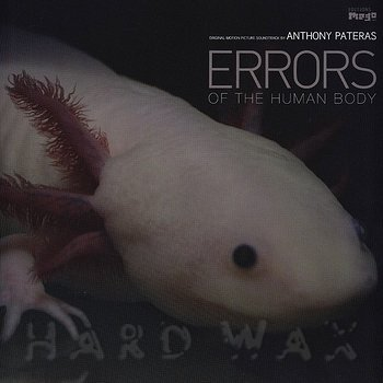 Cover art - Anthony Pateras: Errors Of The Human Body OST
