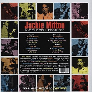Cover art - Jackie Mittoo & The Soul Brothers: Last Train To Skaville