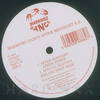 Cover art - Various Artists: Warriors Dance - After Midnight EP