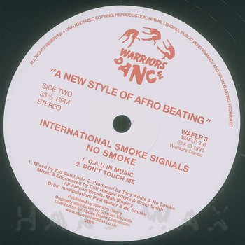 Cover art - No Smoke: International Smoke Signals