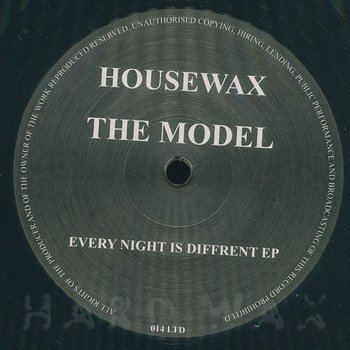 Cover art - The Model: Every Night Is Different EP