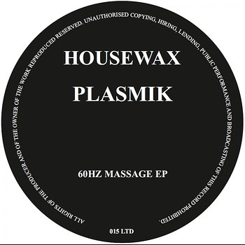 Cover art - Plasmik: 60Hz Massage EP