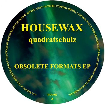 Cover art - Quadratschulz: Obsolete Formats EP