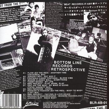 Cover art - Various Artists: Bottom Line Records Retrospective