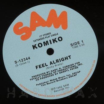 Cover art - Komiko: Feel Alright