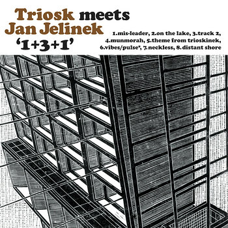 Cover art - Triosk meets Jan Jelinek: 1+3+1