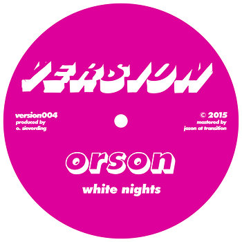 Cover art - Orson: White Nights