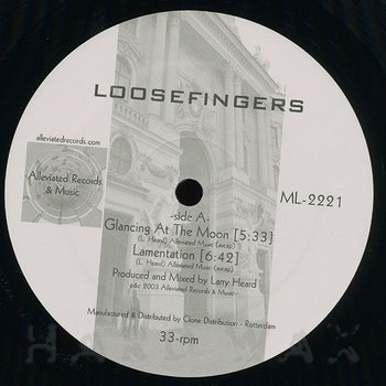 Cover art - Loosefingers: Glancing At The Moon