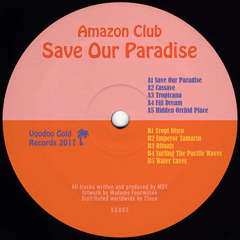 Cover art - Amazon Club: Save Our Paradise