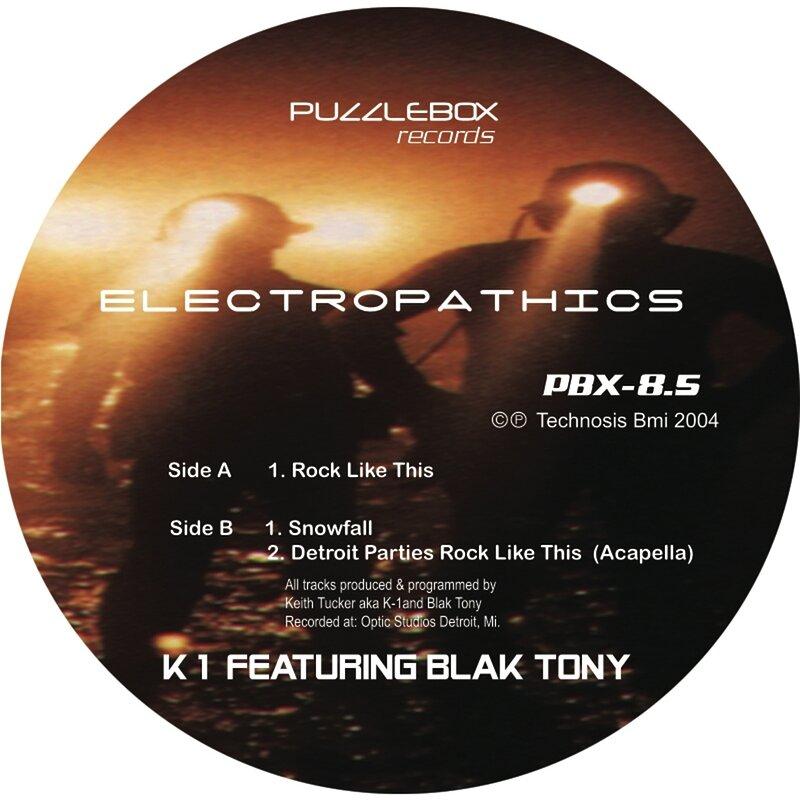 Cover art - K1 feat. Black Tony: Electropathics