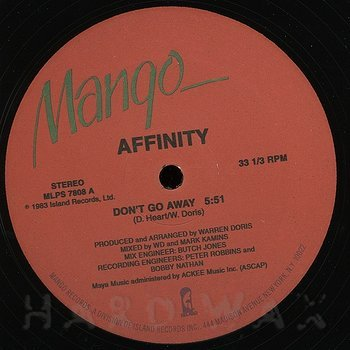 Cover art - Affinity: Don't Go Away