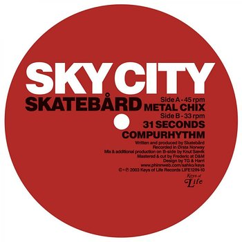 Cover art - Skatebård: Sky City