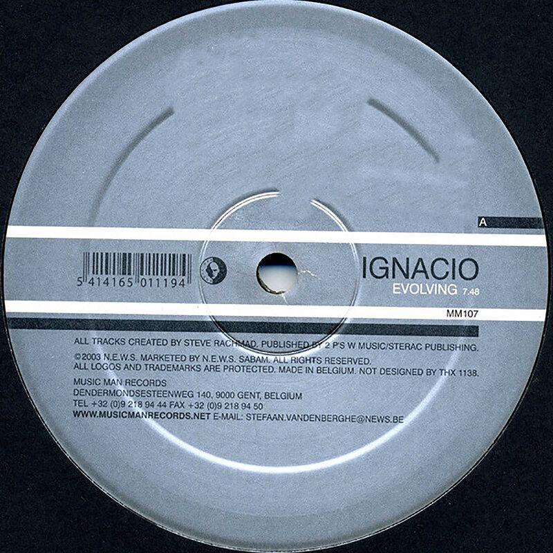 Cover art - Ignacio: Evolving