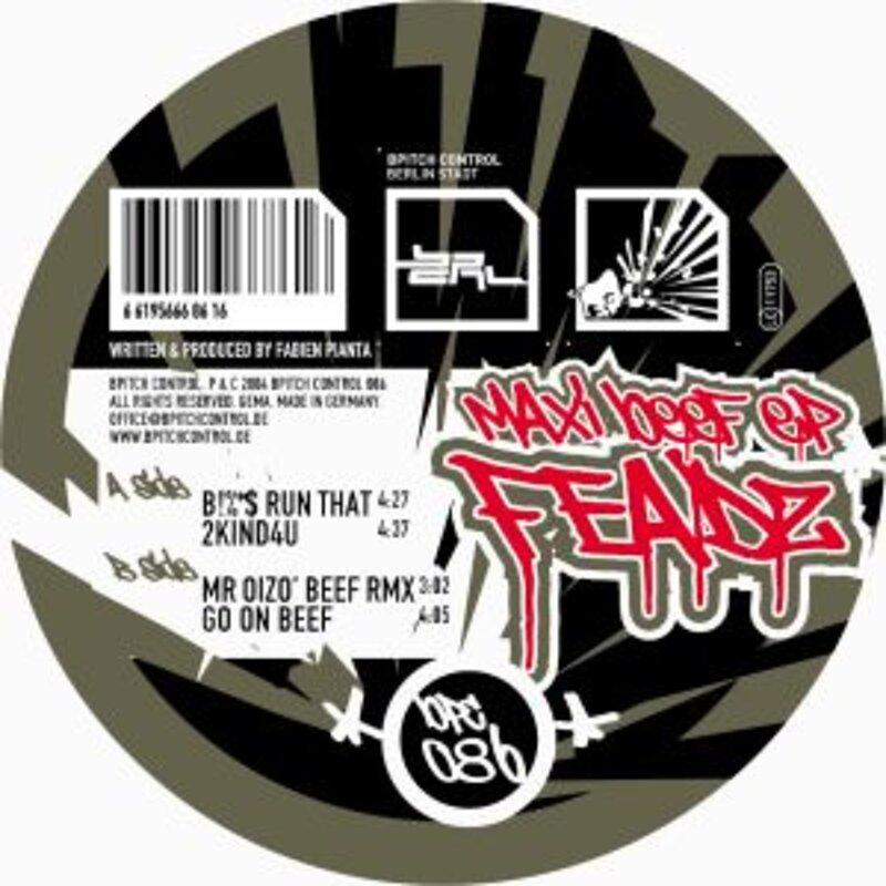Cover art - Feadz: Maxi Beef EP