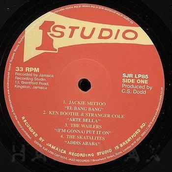 Cover art - Various Artists: Studio One Ska