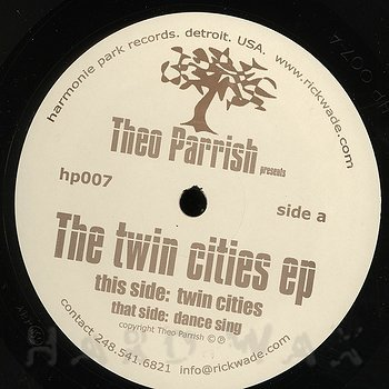 Cover art - Theo Parrish: The Twin Cities EP