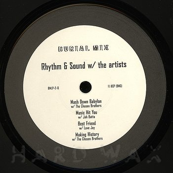 Cover art - Rhythm & Sound: W/ The Artists