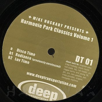 Cover art - Mike Huckaby: Harmonie Park Classics Vol. 1