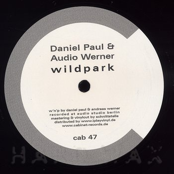 Cover art - Daniel Paul & Audio Werner: Tocker