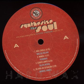 Cover art - Various Artists: Synthesize The Soul: Astro​-​Atlantic Hypnotica From The Cape Verde Islands 1973–1988