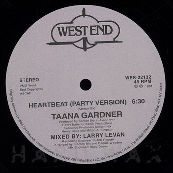 Cover art - Taana Gardner: Heartbeat