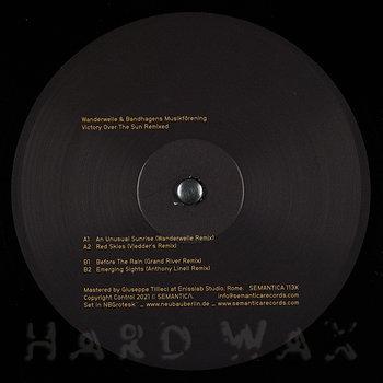 Cover art - Wanderwelle & Bandhagens Musikforening: Victory Over The Sun Remixed