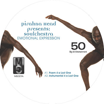 Cover art - Pirahna Head pres. Soulchestra: Emotional Expression
