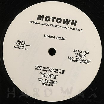 Cover art - Diana Ross / Marvin Gaye: Love Hangover